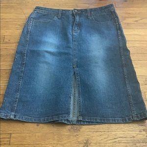 Bubblegum jean skirt size 11/12